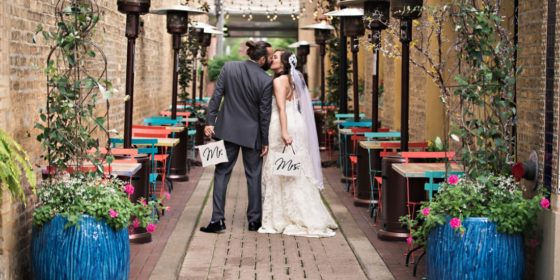 Katelyn + Blake   Arlington Heights Wedding Photographers